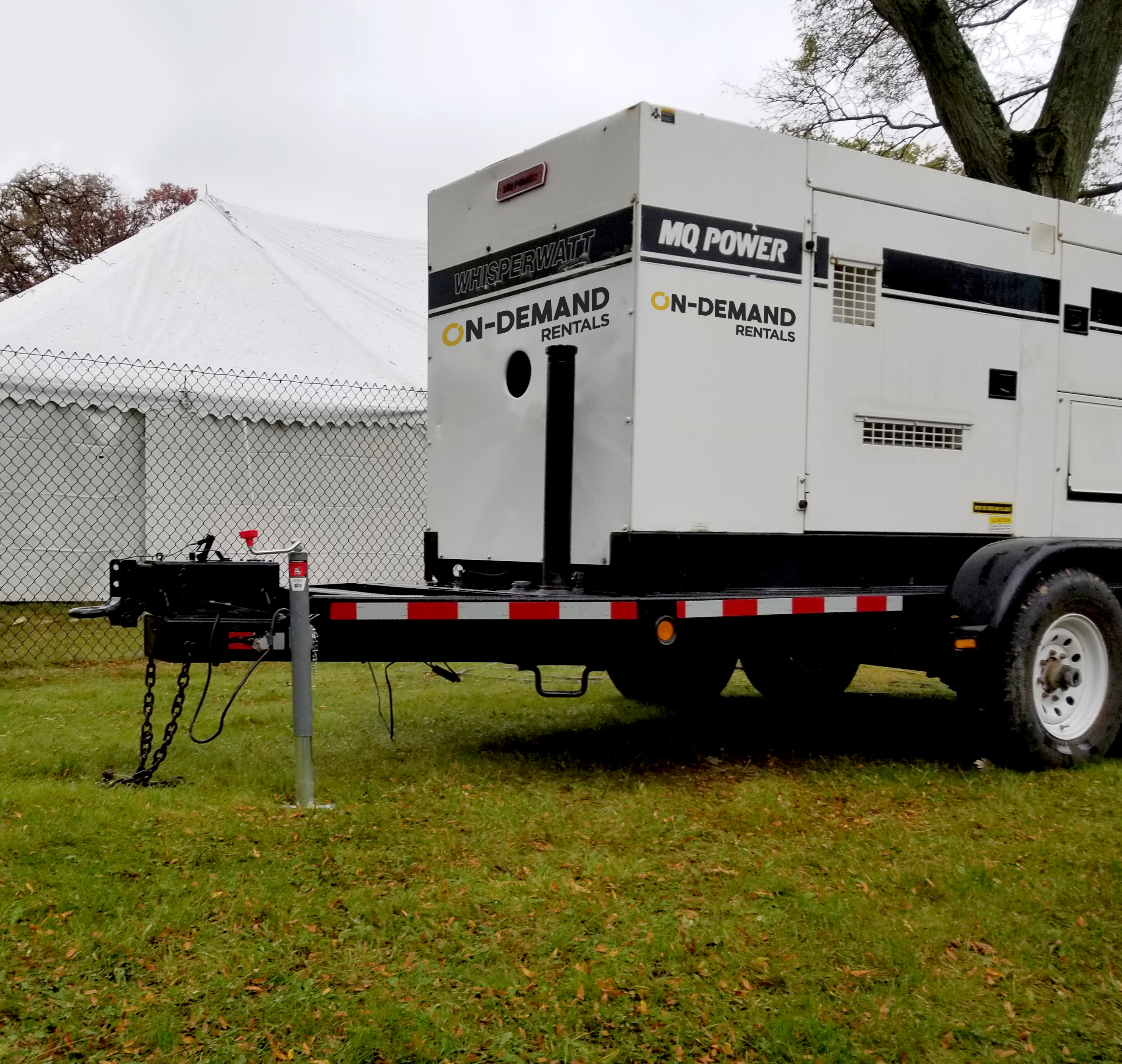 On-Site Generator Delivery